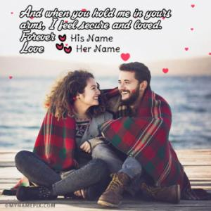 You And Me Love Forever Image With Name