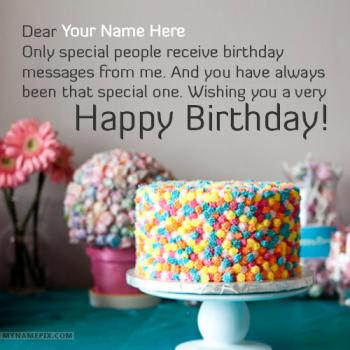 Best Happy Birthday Greetings With Name