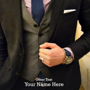 Classy Style Image With Name