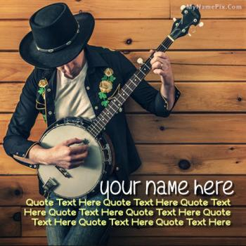 Guitarist Boy Images With Name Quote Image With Name