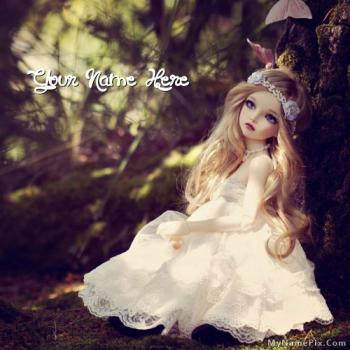 Cute Alone Doll Image With Name