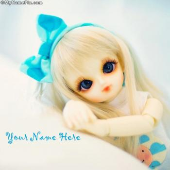 Cute Little Doll Image With Name