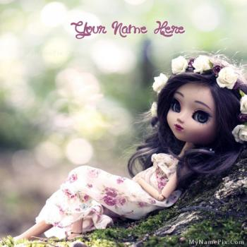 Cute Stylish Doll Image With Name