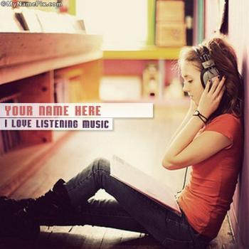 i love listening to music