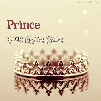 Prince Crown Image With Name