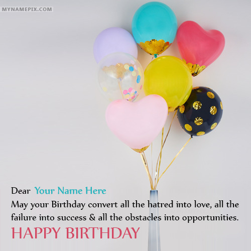 Awesome Happy Birthday Wishes With Name Happy Birthday Awesome Wishes
