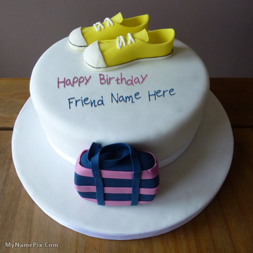 Latest Birthday Cake Images With Name : Birthday Cake for Girls New With Name