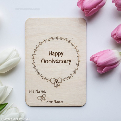 Wedding anniversary name pictures search results