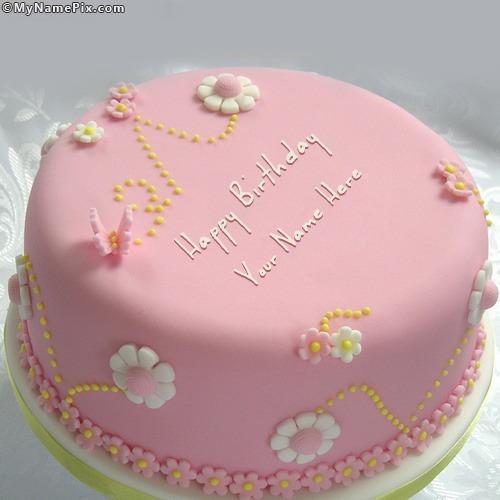 Birthday Cake Pics With Name Anam : Happy Birthday Cake