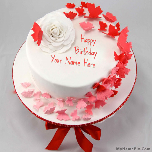 Cake With Name Birthday : Birthday cake with name maker online