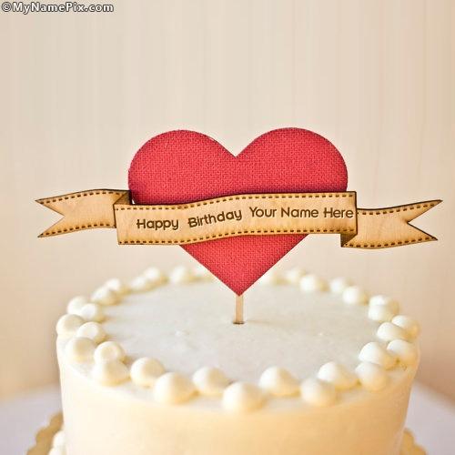 Cake Images With Name Mahi : Happy Birthday Cake With Name