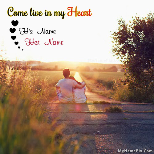 Live in my Heart Image With Name
