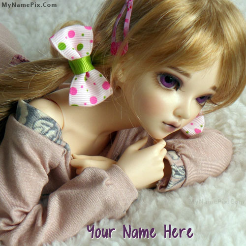 Lovely Doll Image With Name