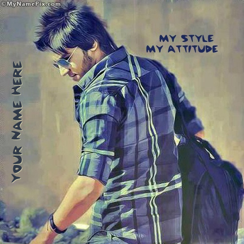 my style my attitude image with name