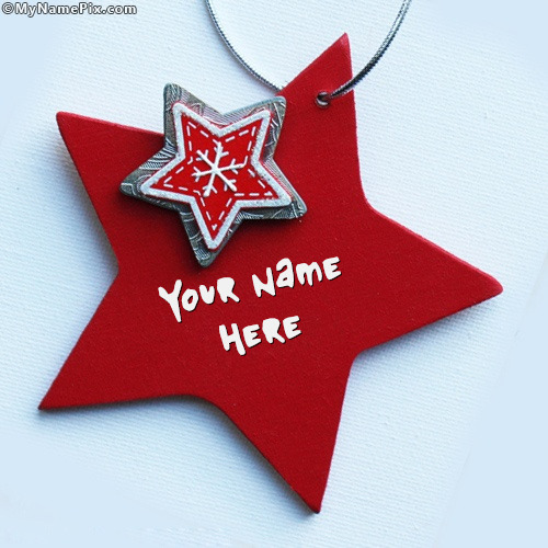 Red Star Image With Name