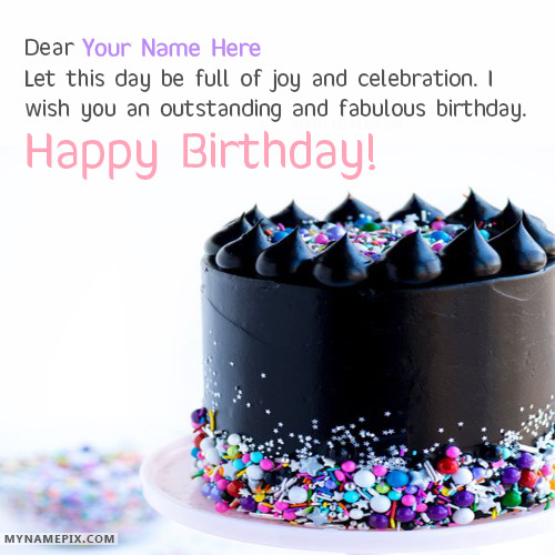 Happy Birthday Wishes By Name ~ Lovely happy birthday wishes with name