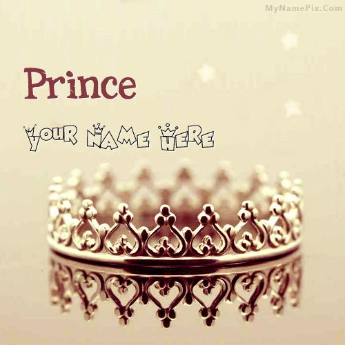 Prince Crown Image With Name