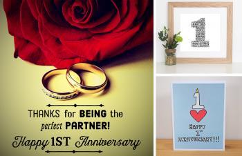 1st Anniversary Wishes