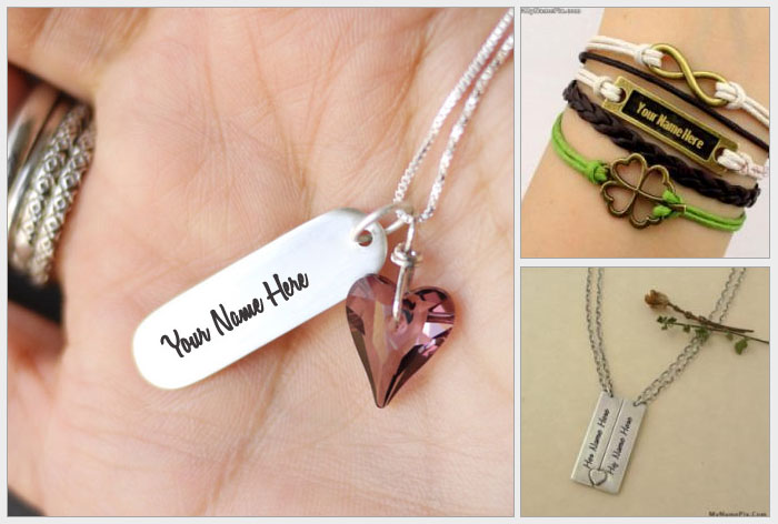 Name On Jewelry Pictures