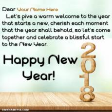 2018 New Year Photos With Messages