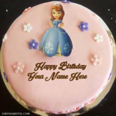 Remarkable Happy Birthday Cake With Name Generator Personalised Birthday Cards Veneteletsinfo