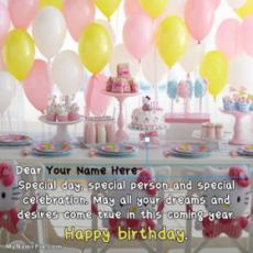 Best Birthday Wishes Celebration