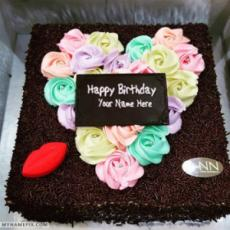 Best German Chocolate Birthday Cake With Name