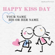 Best Happy Kiss Day Wish