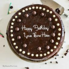 Cool Chocolate Birthday Cake