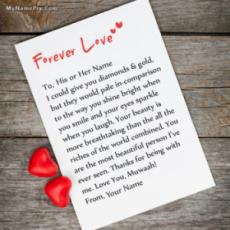 Forever Love Note