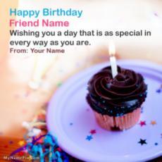 Friend Birthday Wish