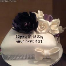 Beautiful Cake With Name