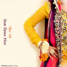 Beautiful Mehndi Dress