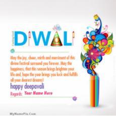 Deepwali Greeting Card