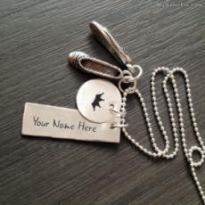 Girly Shoe Necklace
