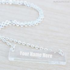 Glass Bar Necklace