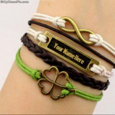 Golden Charm Bracelets