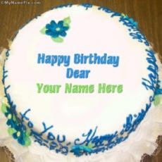 Happy Birthday Dear With Name