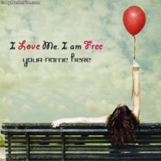 I am me and I am free