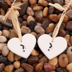 Stone Hearts With Name