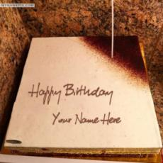 Square Icecream Birthday Cake