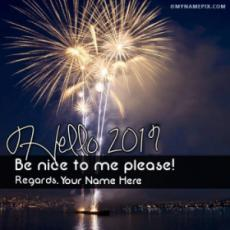 Get Welcome 2019 Images With Your Name