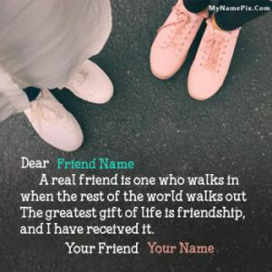 Best Friendship Quotes With Name