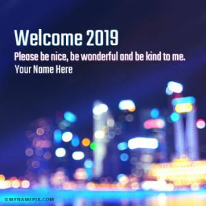 Bye 2018 Welcome 2019 New Year