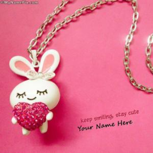 Keep Smiling Stay Cute With Name