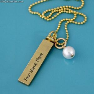 Personalized Sterling Silver Gold Filled Necklaces With Name