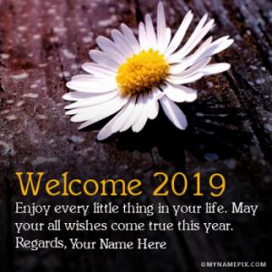 Welcome New Year 2019