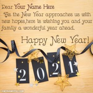 Write Name On Happy New Year 2019 Images
