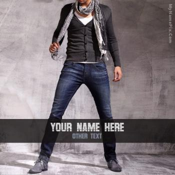 Fashion Style Image With Name