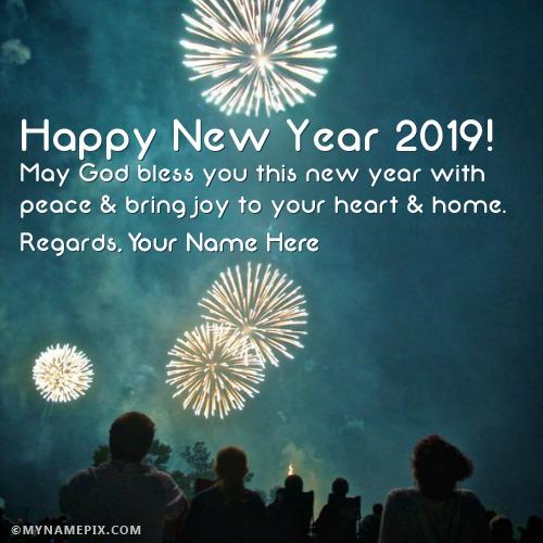 Happy New Year 2017 Wishes: 2019 Happy New Year Wishes With Name